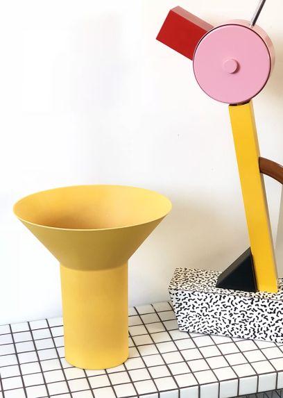 Yellow Garbo Vase – GEERT LAP