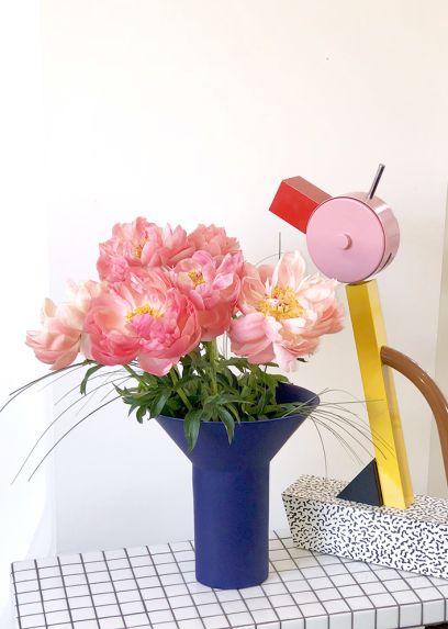 Totemic Indigo Vase – Geert Lap