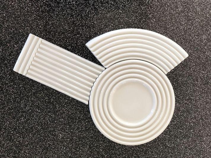 Petites assiettes Porcelaine