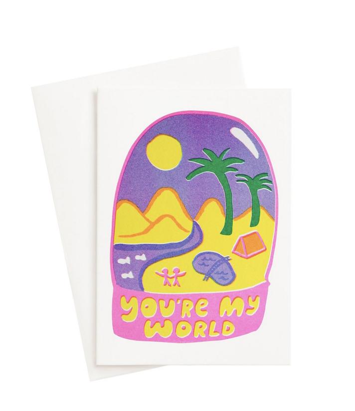 Carte Postale You're my world
