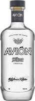 AVION TEQ SILVER W/2 GLASSES