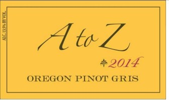 A to Z Wineworks Pinot Gris