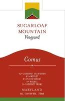 Sugarloaf Mountain Vineyard Comus Bordeaux Blend