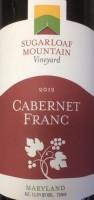 Sugarloaf Mountain Vineyard Cabernet Franc