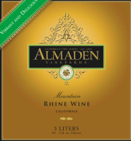 Almaden Mountain Rhine Wine Muscat