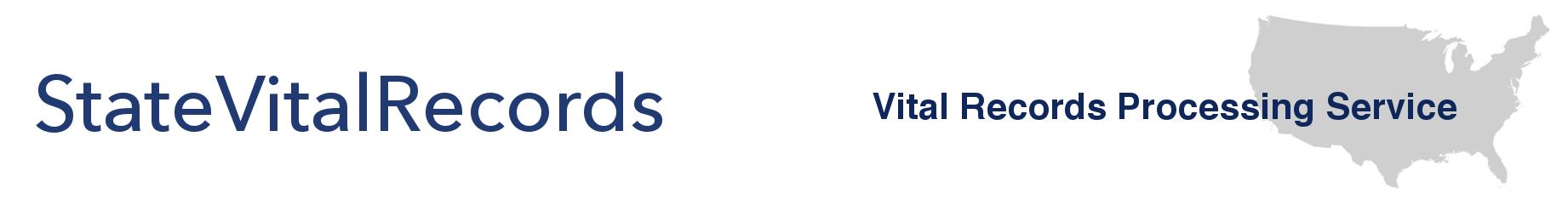 State Vital Records - Vital Records Processing Service