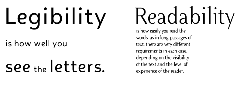 Legibility-and-readability