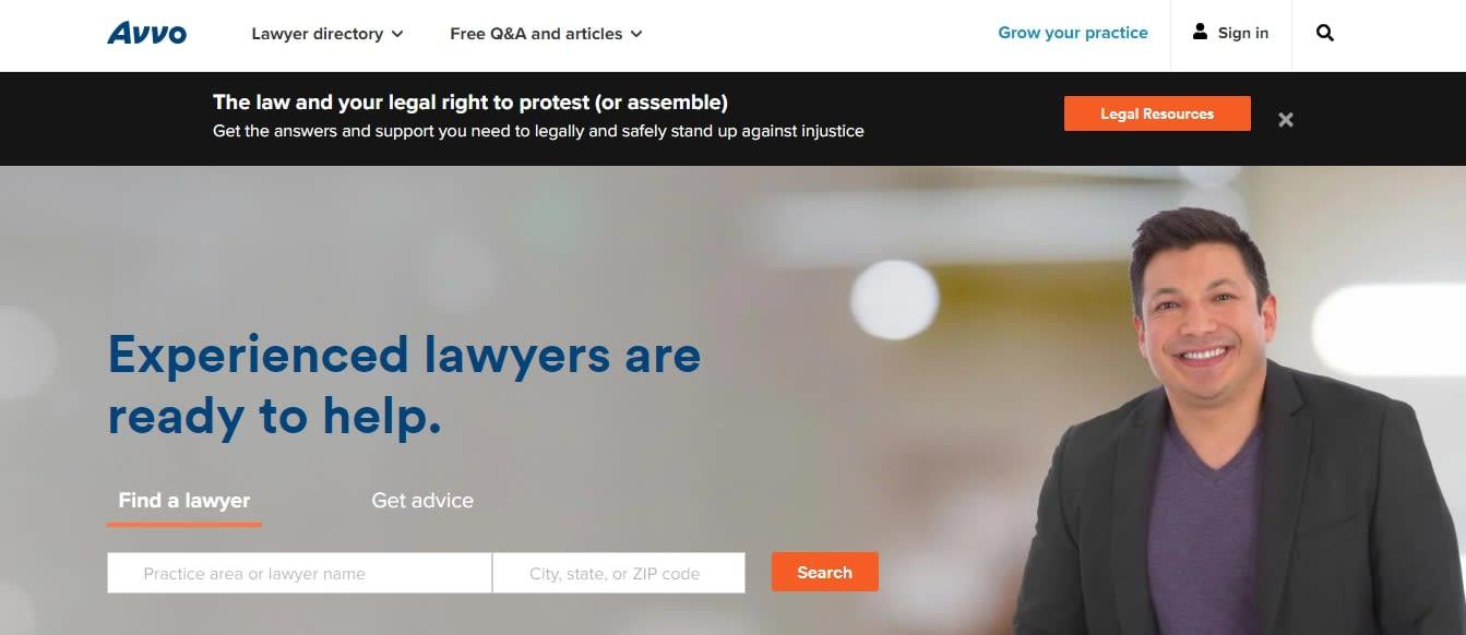Avvo Law Directory