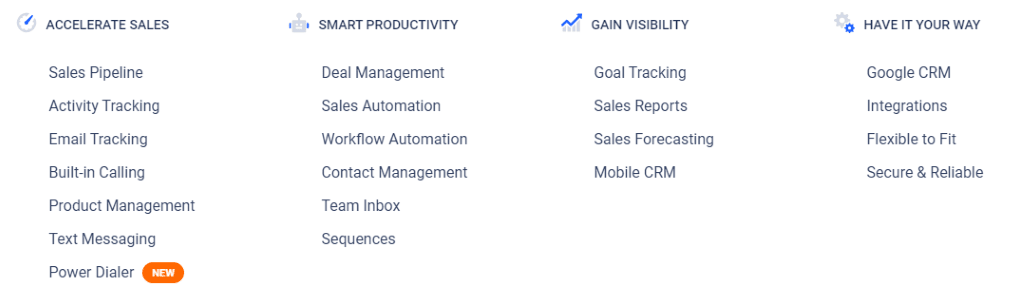 Overview of the CRM Software