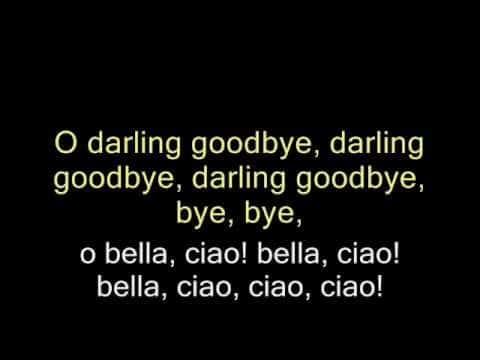 Bella ciao (english subtitles) - YouTube