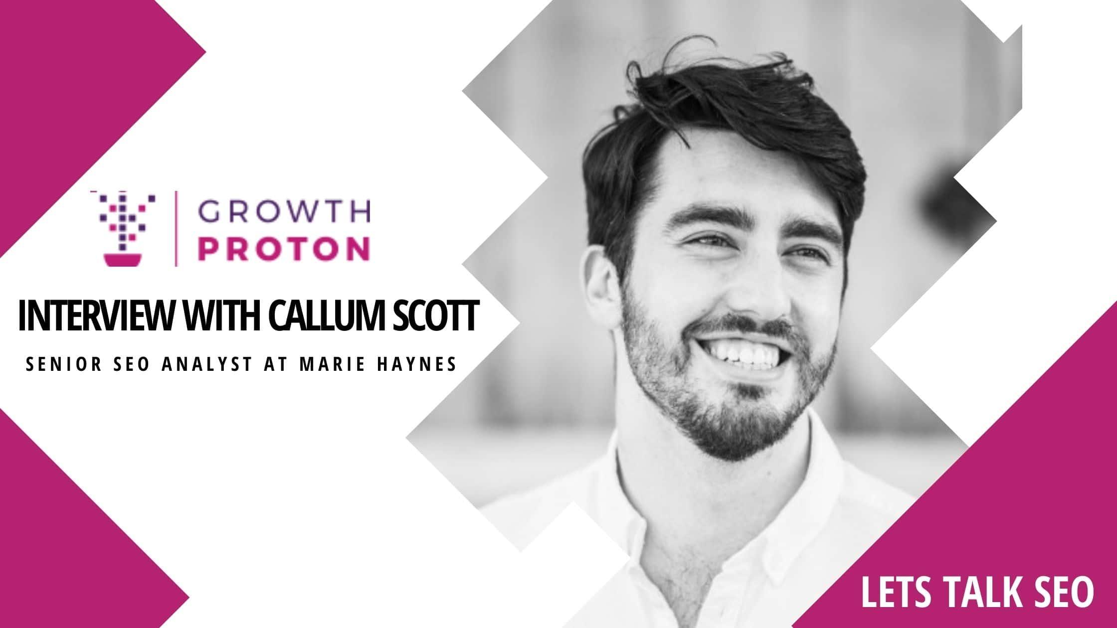 interview with callum scott