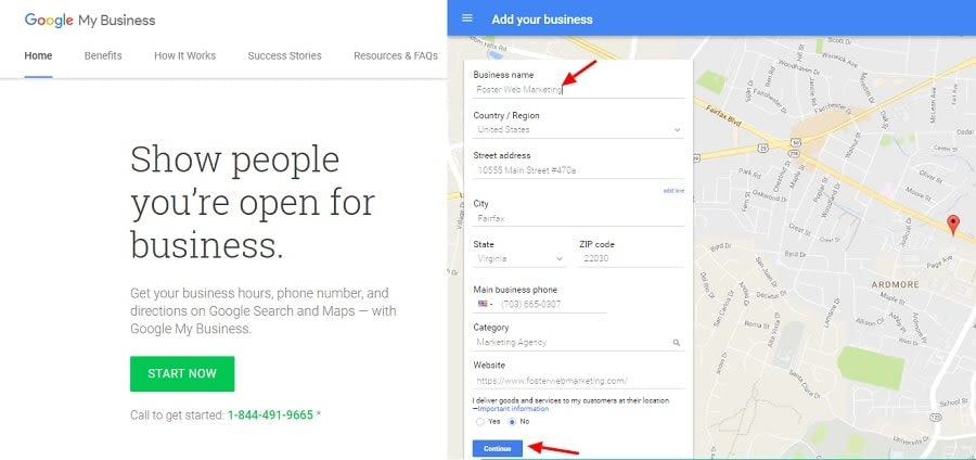 Google My Business Citation