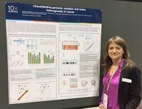 """Characterizing genomic variation and tumor heterogeneity in cancer,"" presented by Claudia Catalanotti"