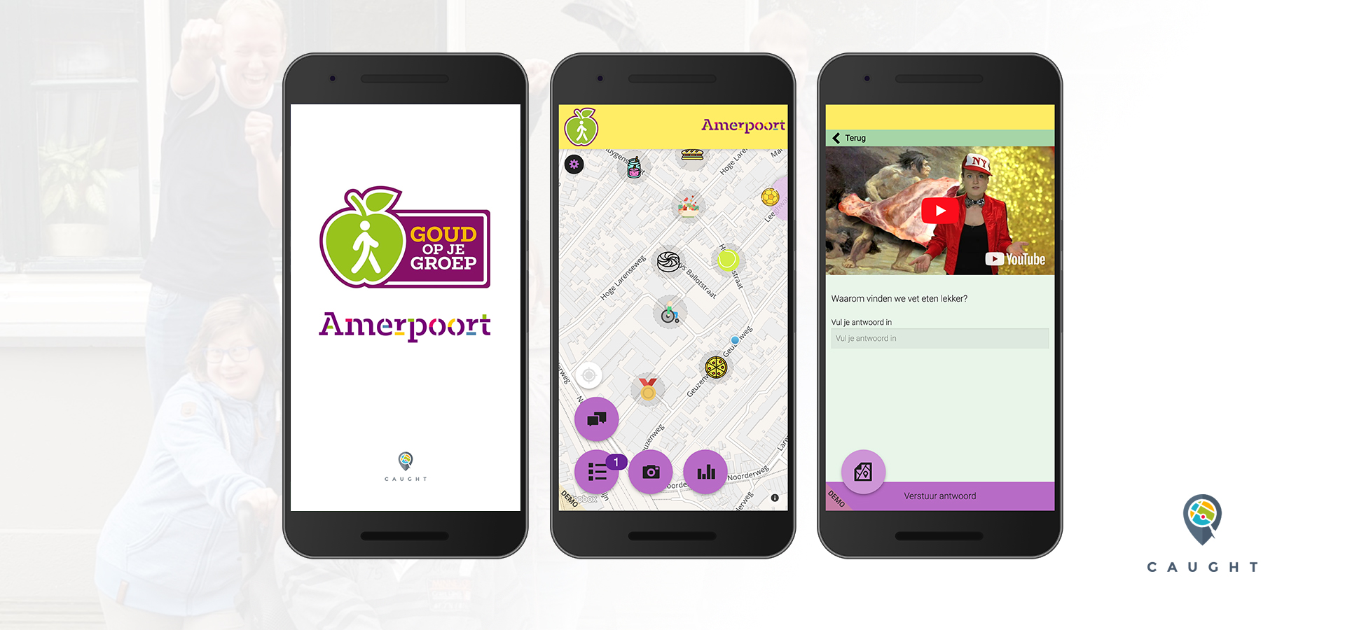 Amerpoort Go screens