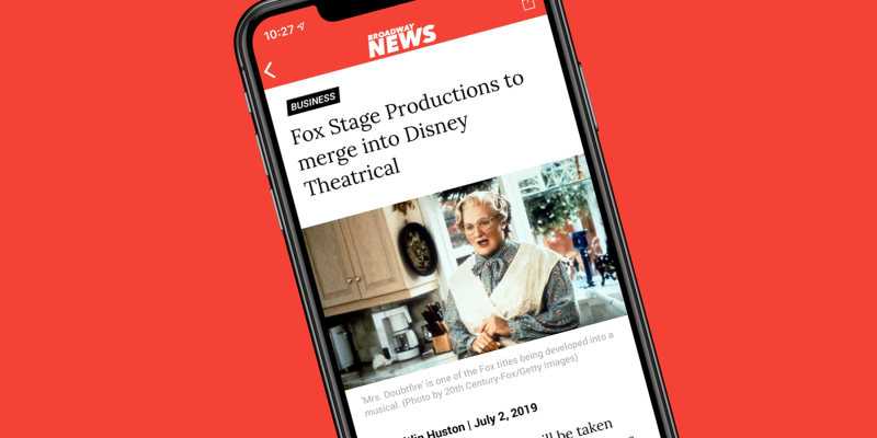 Broadway News App