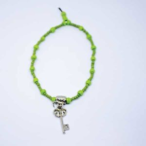Grendo armband met sleutel - Groen