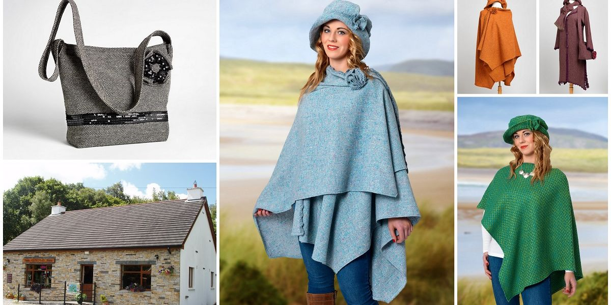 View a gallery of original Donegal Tweed garments, designed and hand crafted in the craft shop.