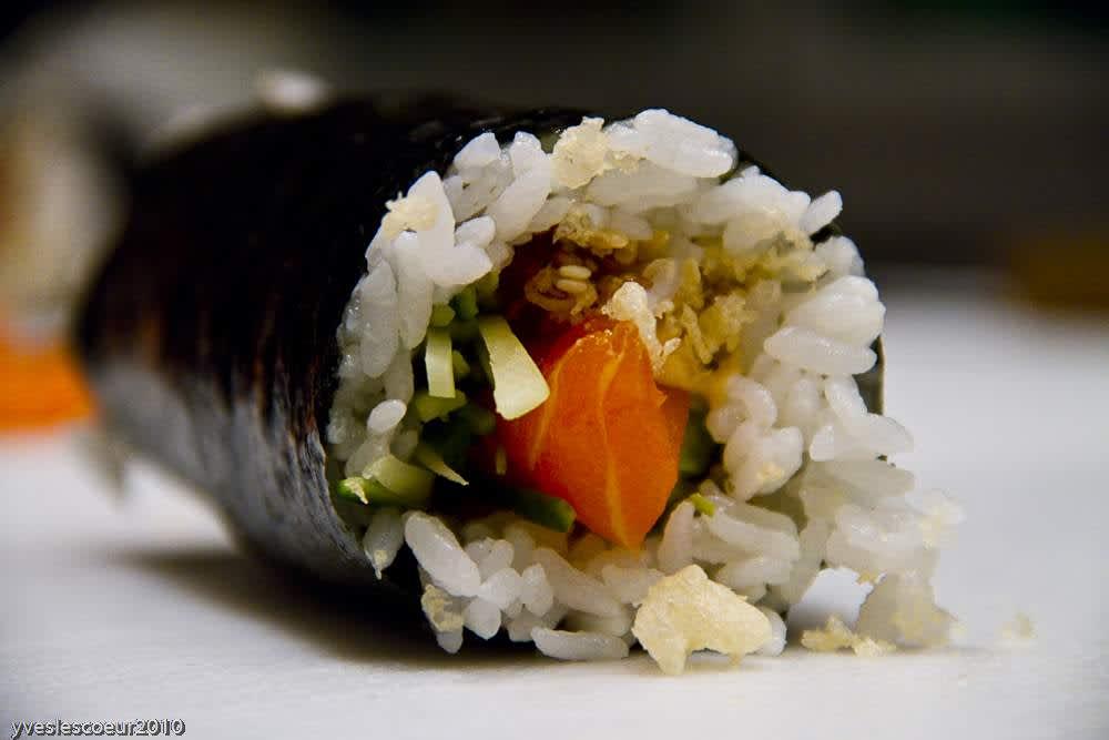 roll au saumon