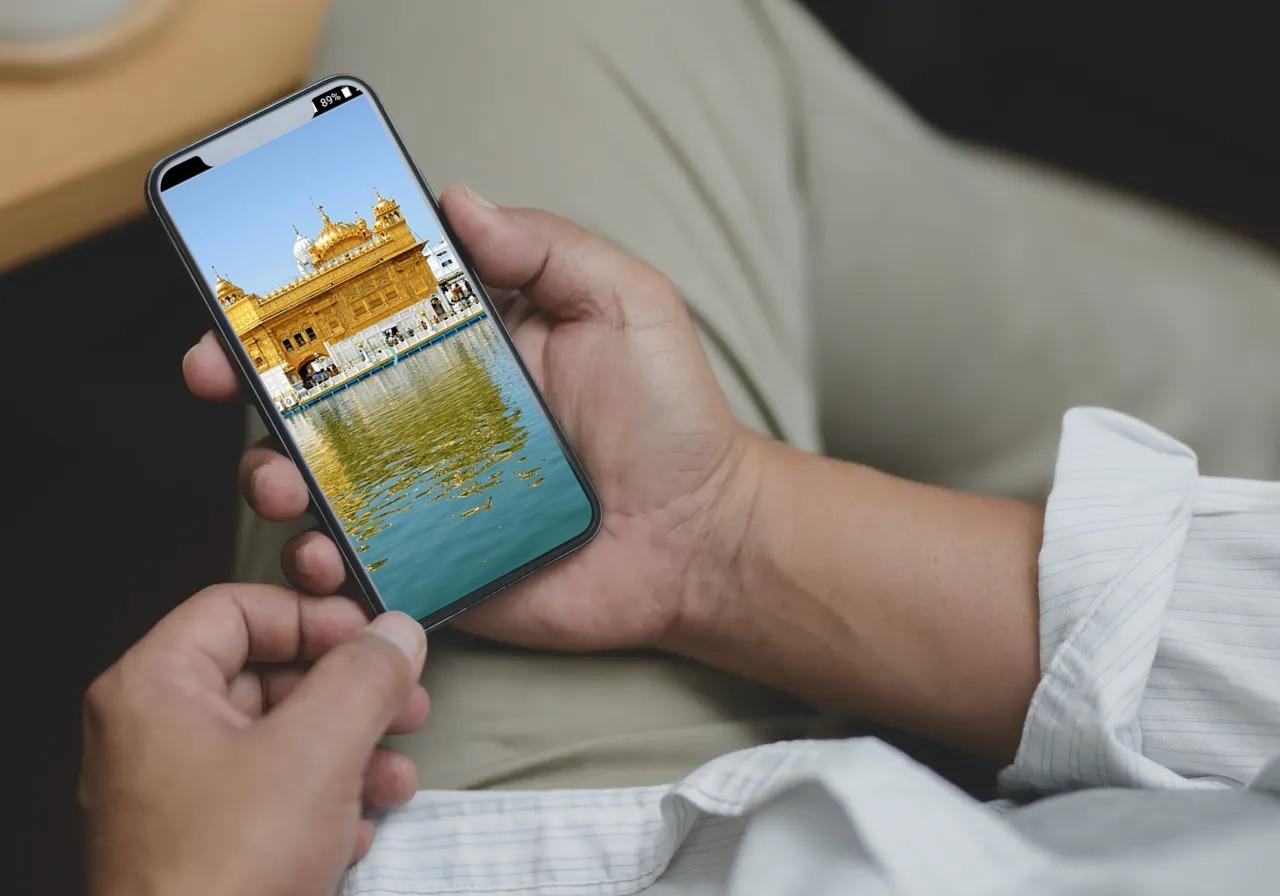 Live Kirtan Harmandir Sahib Mobile App