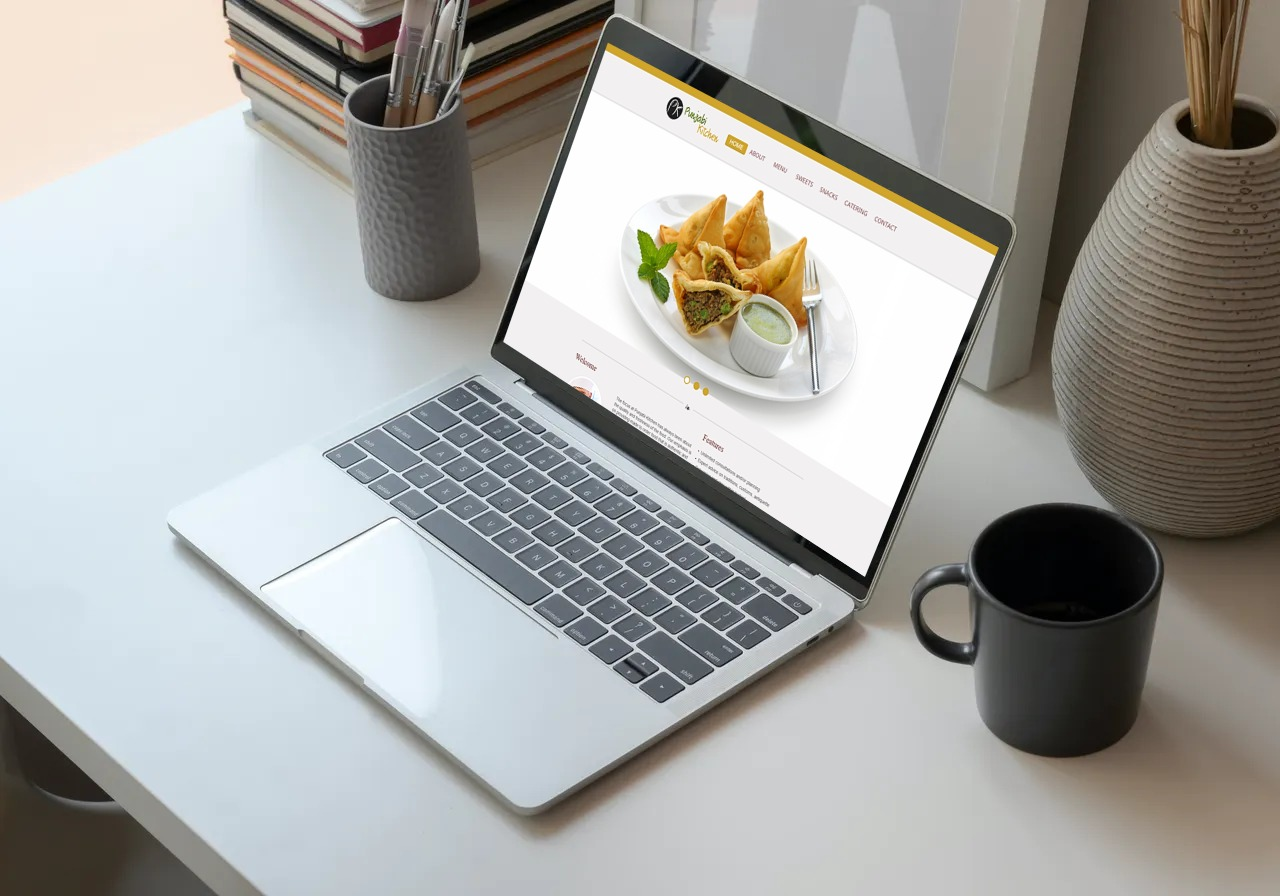 Punjabi Kitchen Website