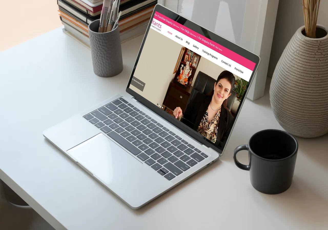 Roopa Consultants Website