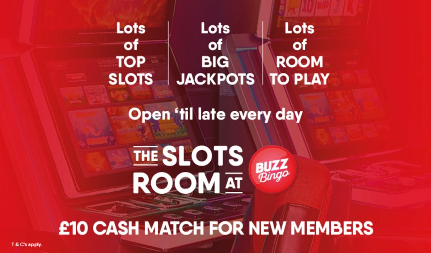 Discover Slots at Buzz Bingo