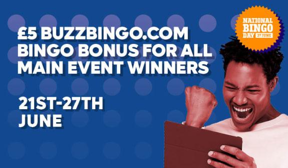 FREE £5 buzzbingo.com Bingo Bonus