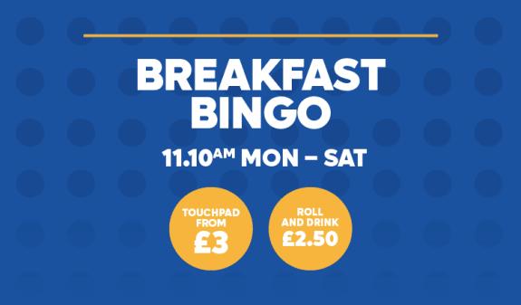Breakfast Bingo 11.10
