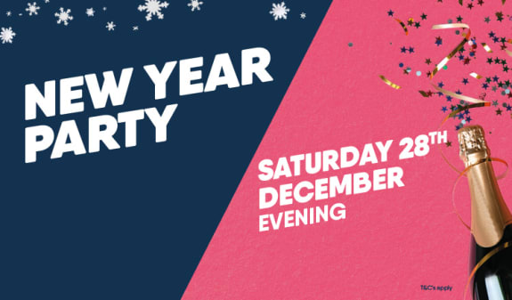 New Year Party 28th December