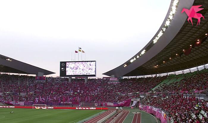 セレッソ大阪 VS 清水エスパルス 2017.06.17 アウェイ
