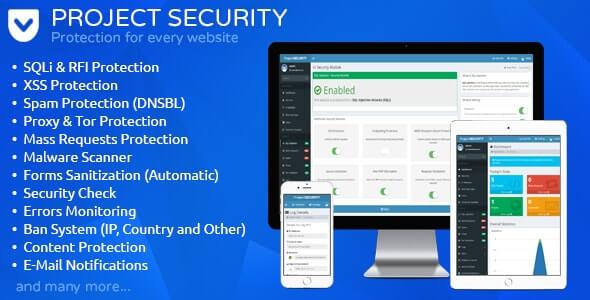 プロジェクトセキュリティ – ウェブサイトセキュリティ, アンチウイルス & ファイヤーウォール
