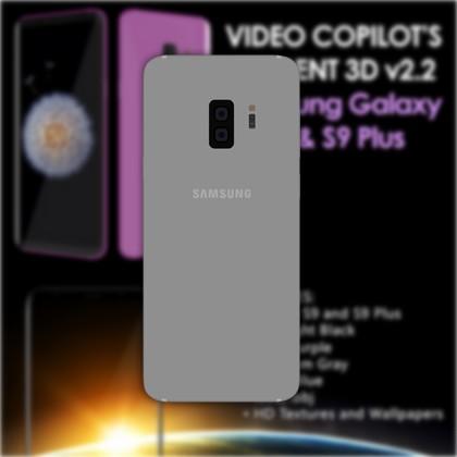 Samsung Galaxy S9 と S9 Plusの3D要素