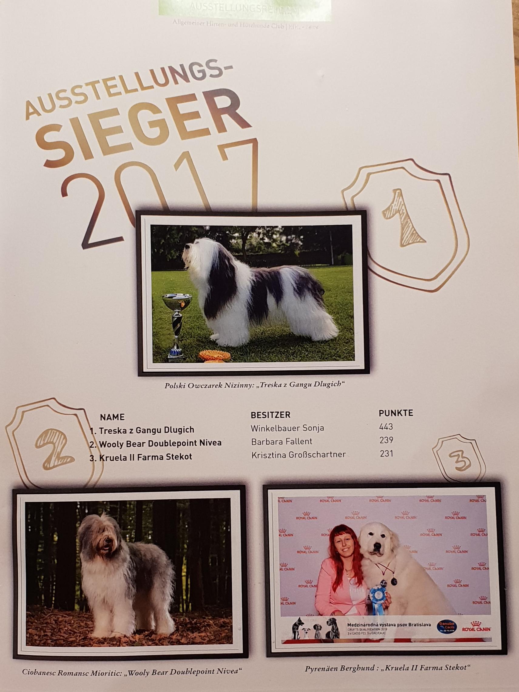 Fluffy Giant Ausgabe 1/2018 HIHU Zeitung  Die österreichische Pyrenäen Berghund Zuchtstätte