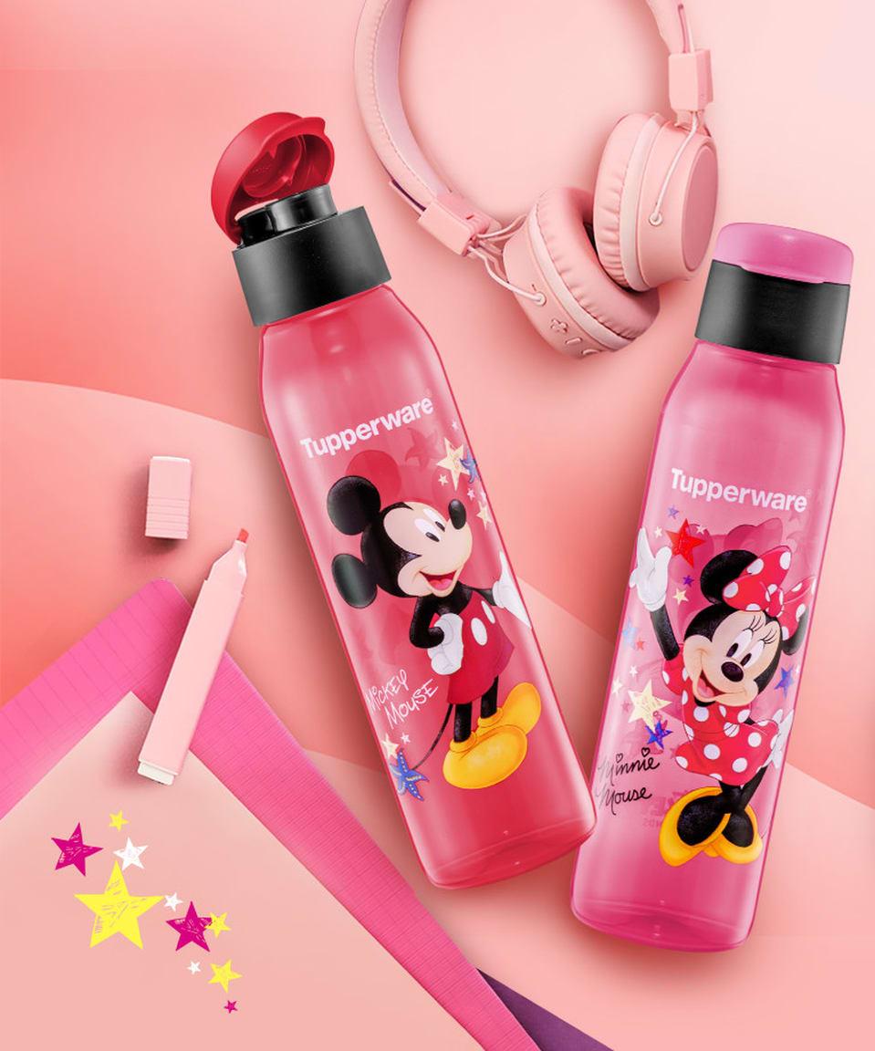 Mickey & Minnie Eco Bottle (2) 500ml