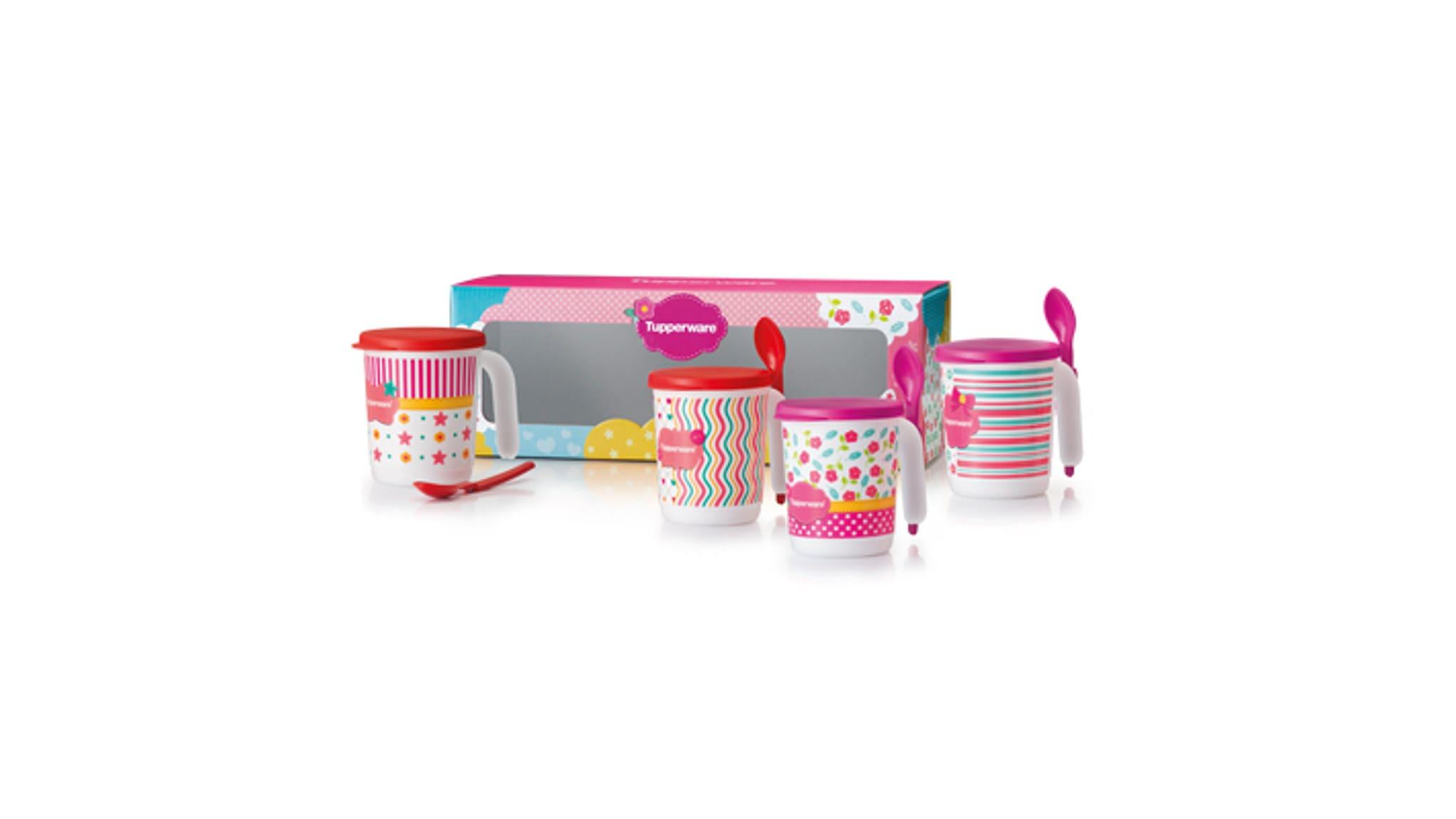 Blushing Pink Mug Set