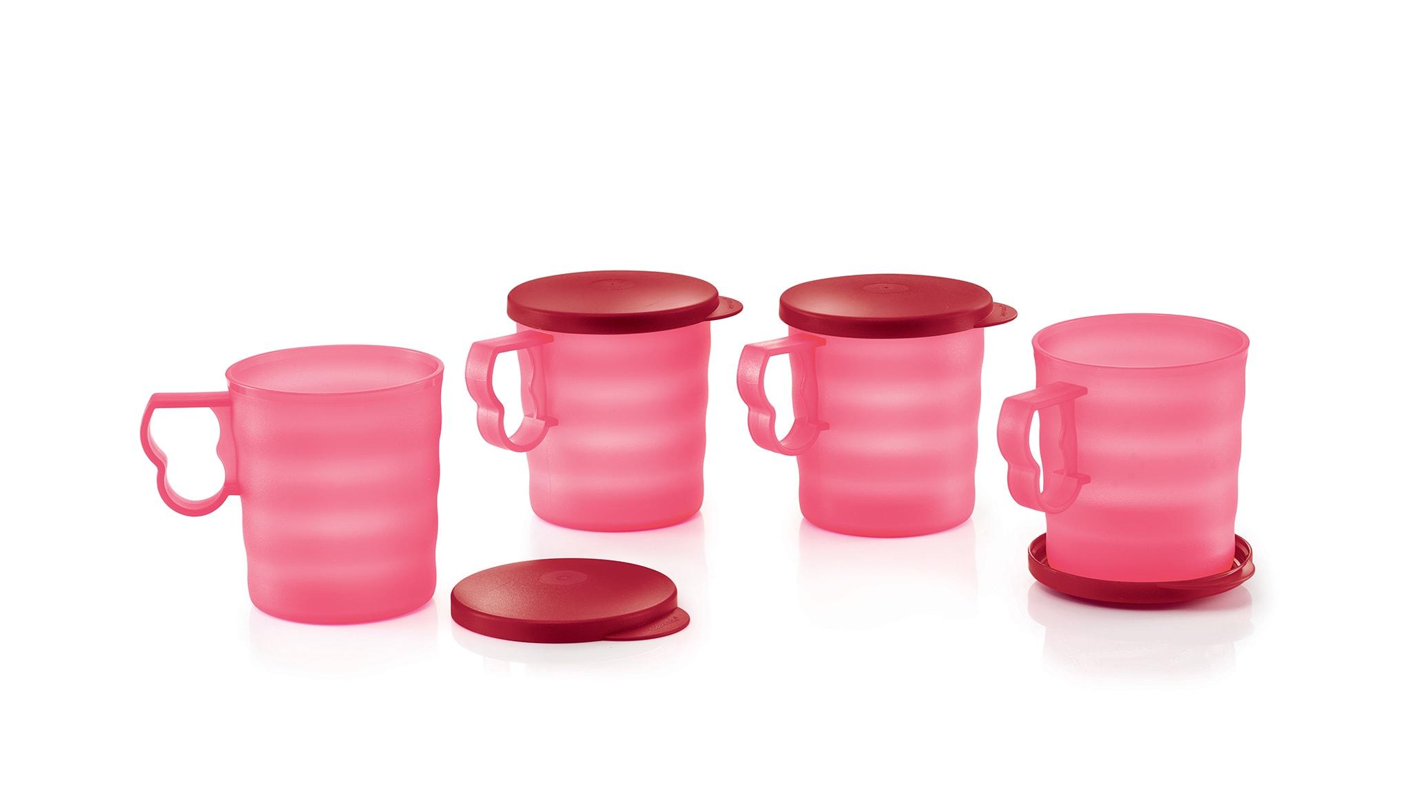Royal Red Mug with Seal (4) 350ml