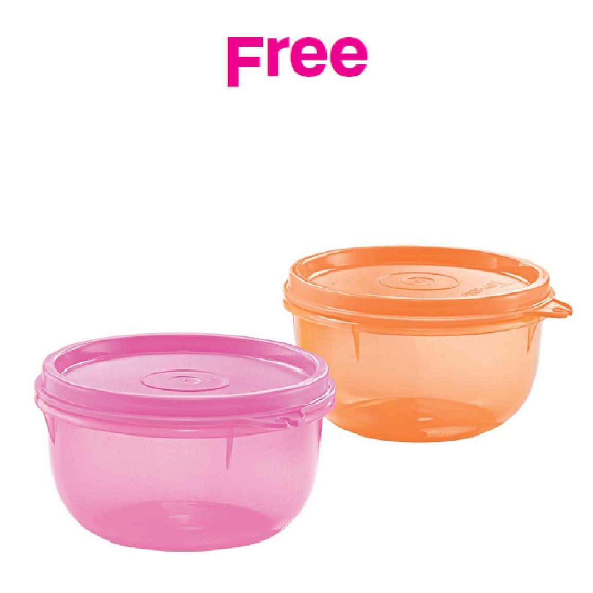 Mini Bowls (2) 250ml - assorted colours