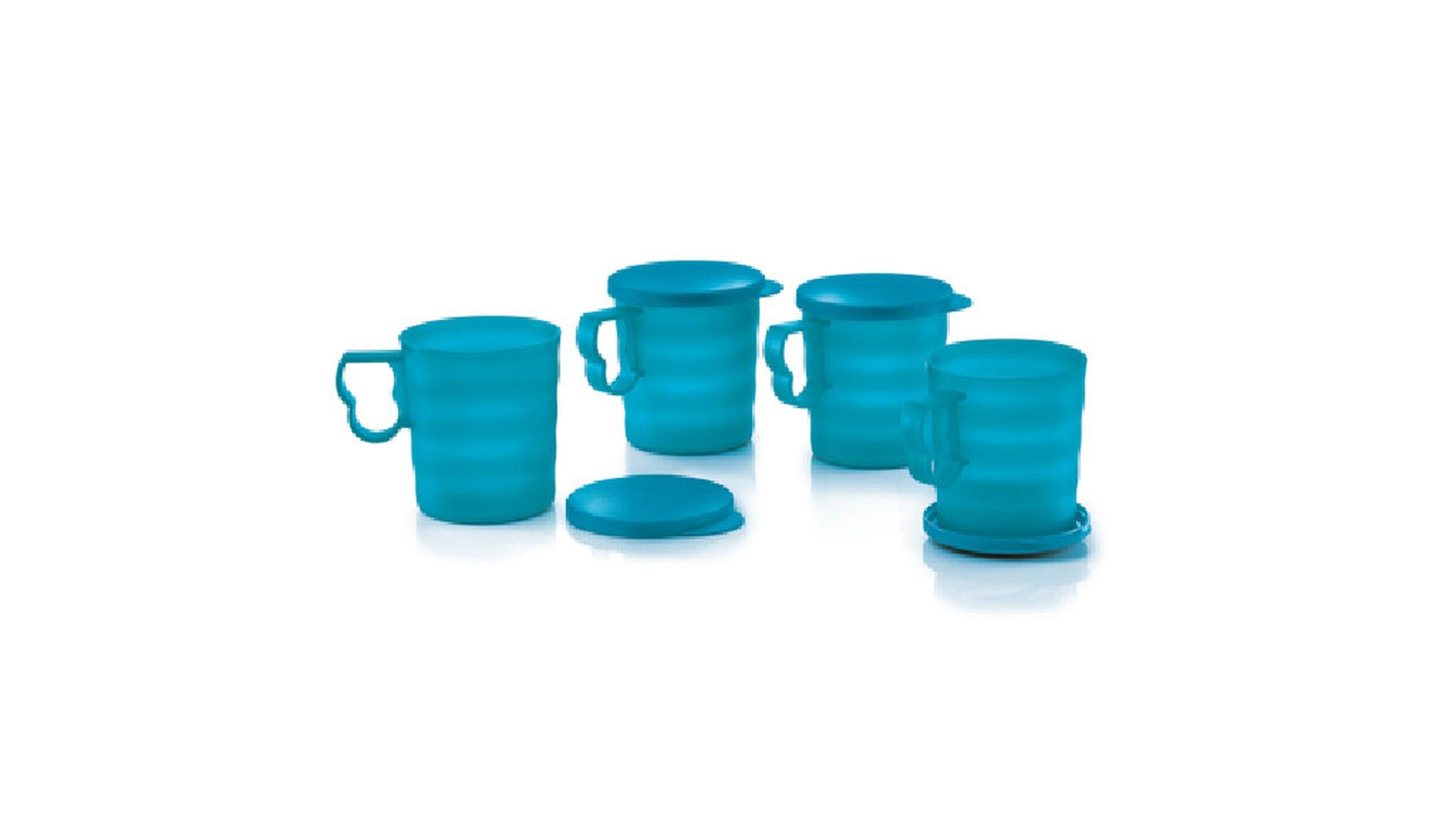 Blossom Mugs & Seals (4) 350ml