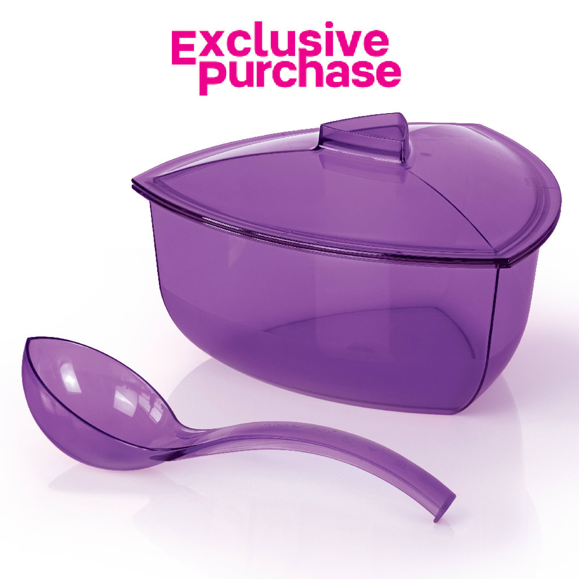 Roza Bowl with Ladle (1) 2.2L