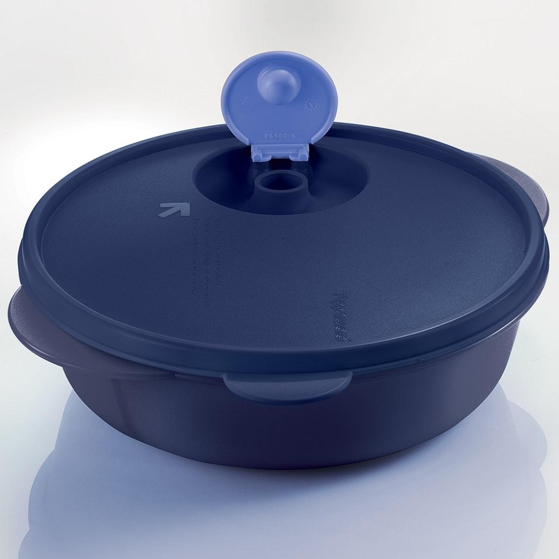 Large CrystalWave Divided Dish (1) 2.0L