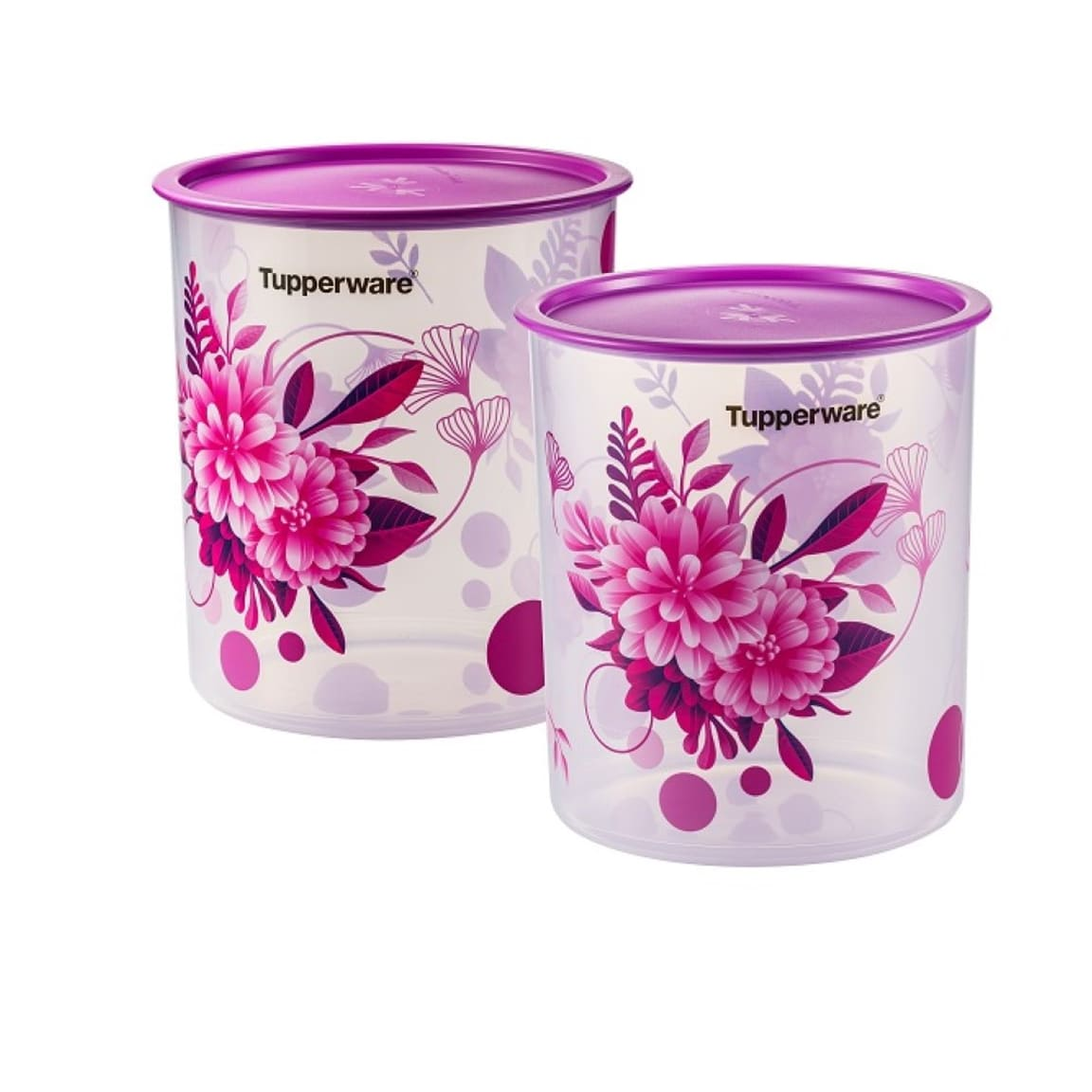 Camellia One Touch Canister Large (2) 4.3L