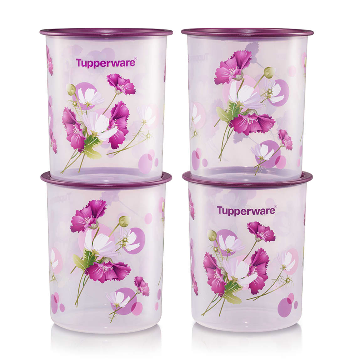 Royale Bloom One Touch Canister Small (4) 2.0L