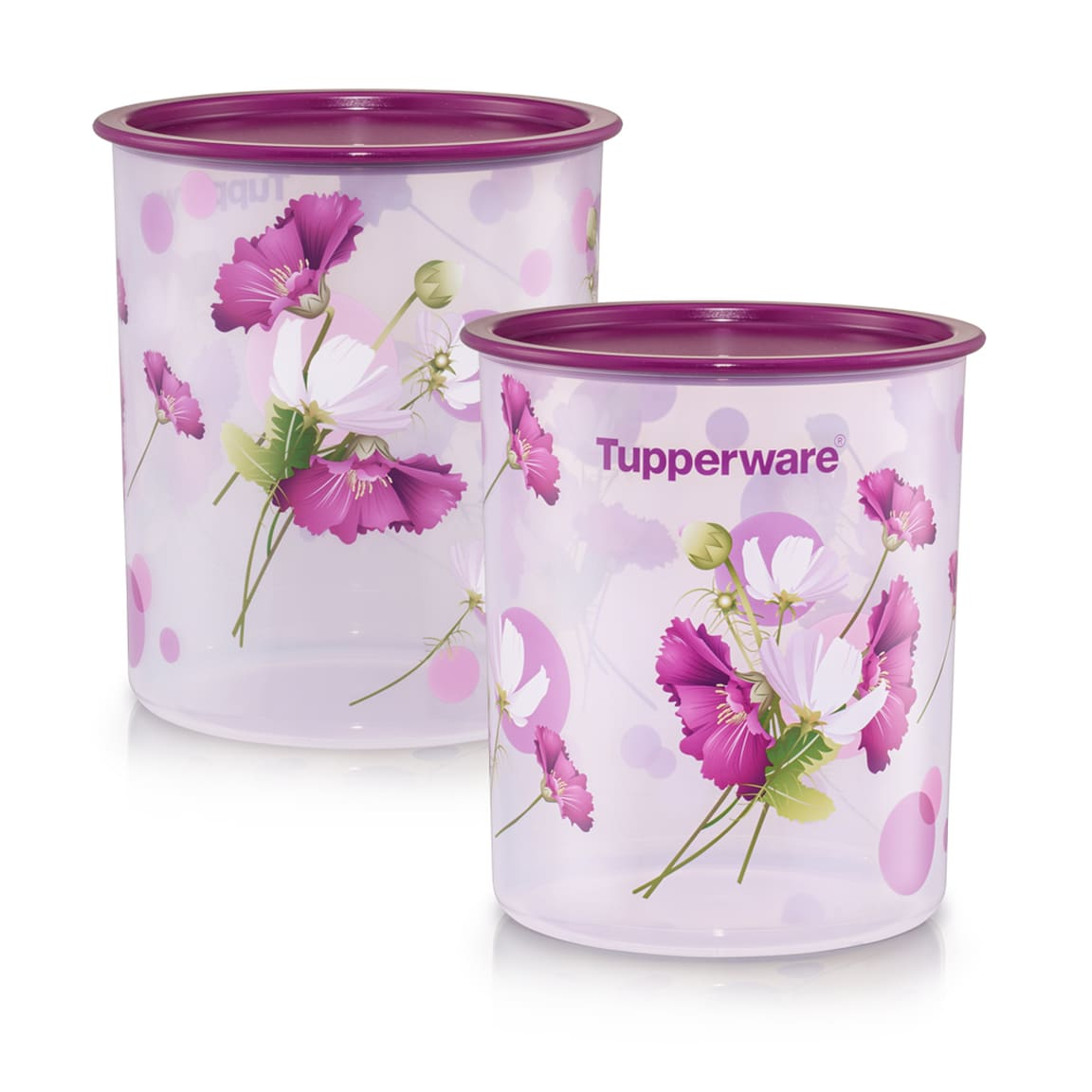 Royale Bloom One Touch Canister Medium (2) 3.0L