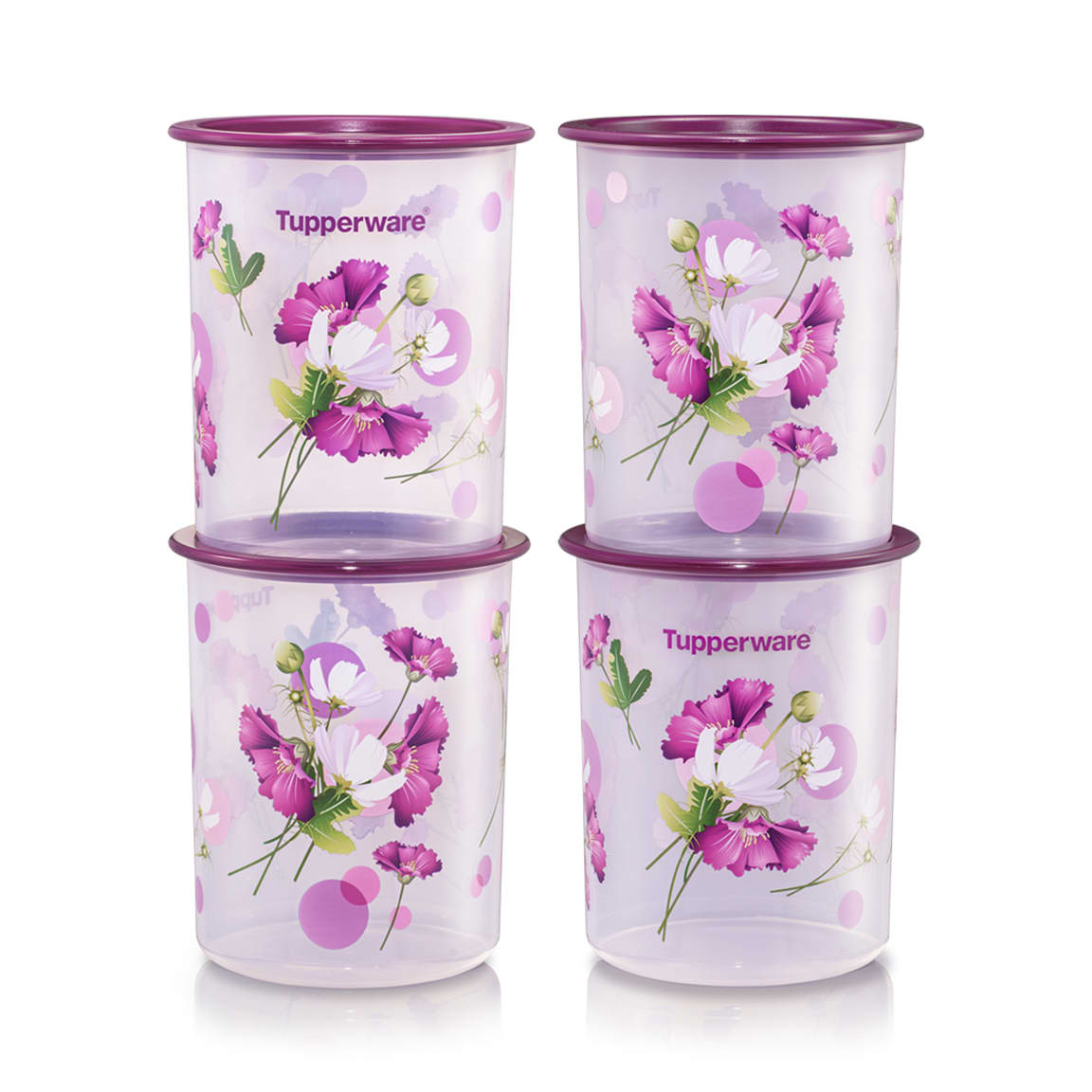 Royale Bloom One Touch Canister Junior (4) 1.25L