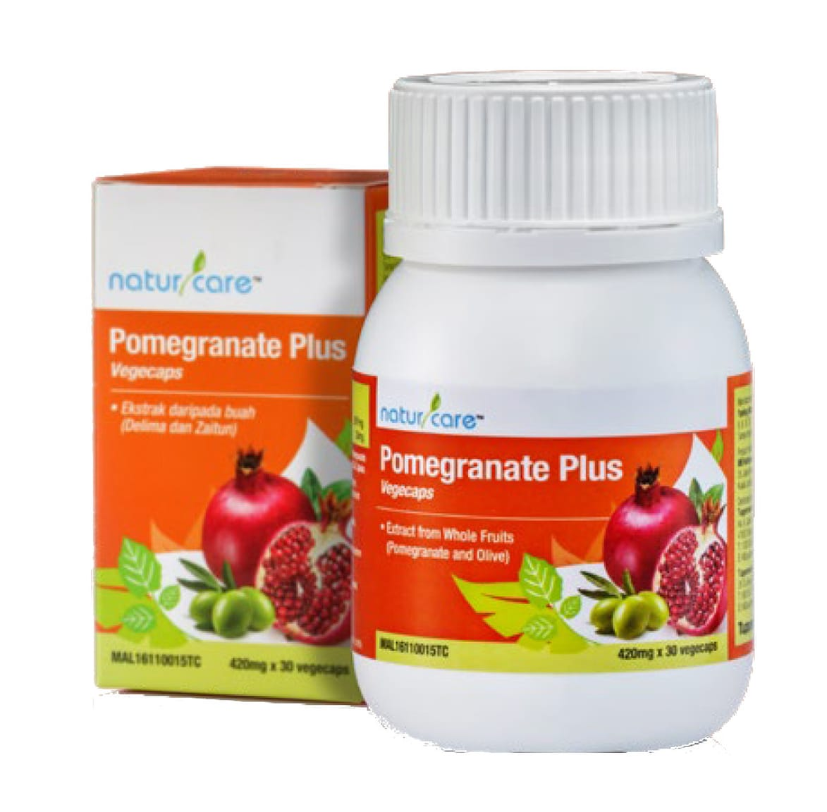 NaturCare™ Pomegranate Plus Olive (1) 30 Vcaps