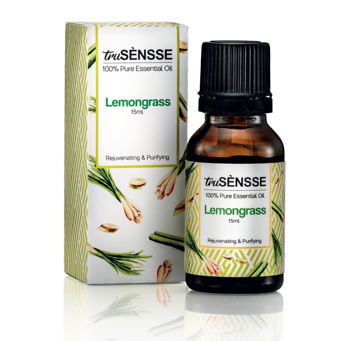 truSÈNSSE 100% Pure Essential Oil - Lemongrass (1) 15ml