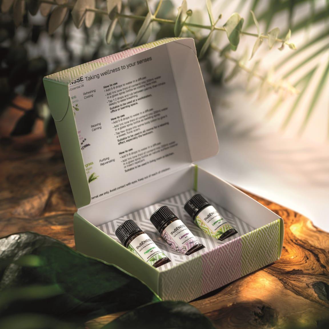 Travel Set with Gift Box (1) 3 x 3ml