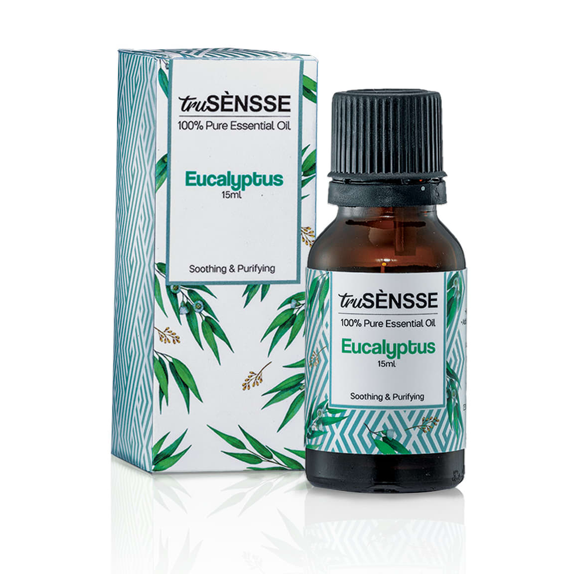 truSÈNSSE 100% Pure Essential Oil - Eucalyptus (1) 15ml