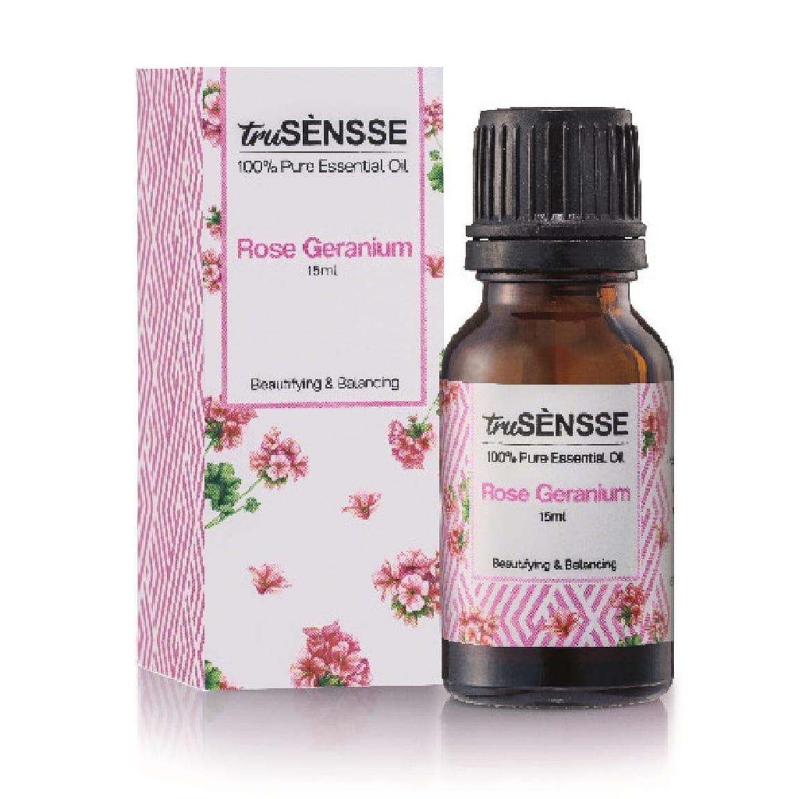 truSÈNSSE 100% Pure Essential Oil - Rose Geranium (1) 15ml