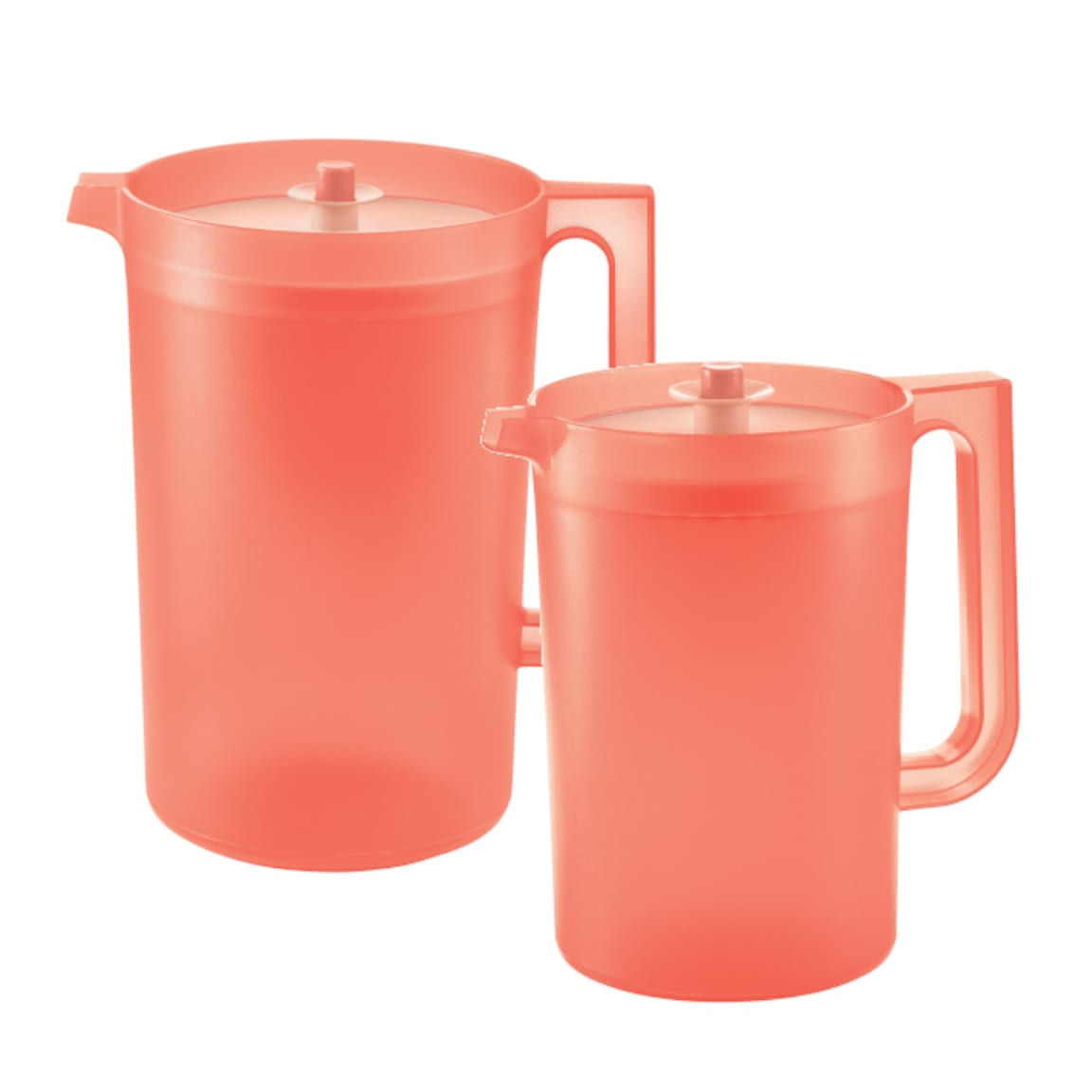 Coral Blooms Pitcher Set